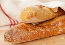 A picture of baguettes