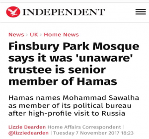 FINSBURY PARK MOSQUE UNCOVERED