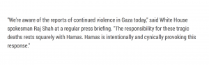 Hamas attack, media goes to war with Israel!