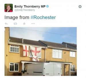 "ENGLISH FLAG ""TAINTED WITH BREXIT AND FAR RIGHT"" SUGGESTS LABOUR MINISTER"