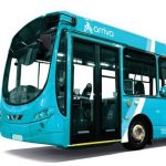A picture of a bus in Arriva company colours