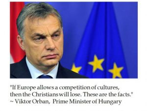 HUNGARY: HAMMER BLOW FOR THE EU