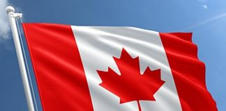 An image of the Canadian flag