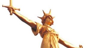 An image of the scales of justice